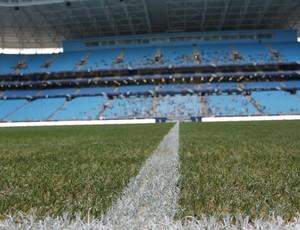 grama Arena do Grêmio (Foto: Diego Guichard / GLOBOESPORTE.COM)