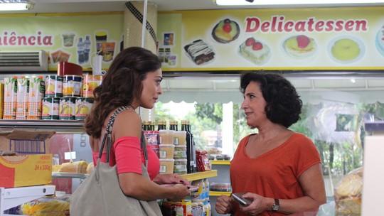 Heleninha diz a Bibi que vai ajudar Rubinho