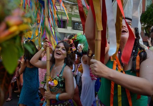 Bloco Cordão do Boitatá nas ruas do Rio de Janeiro (Foto: Tomaz Silva/Agência Brasil)