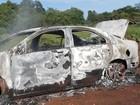 Polícia apresenta suspeito de matar e queimar advogado de Dourados, MS