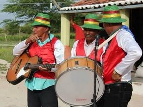 Grupo Som de Viola em Manari (PE) (Foto: Divulgação)