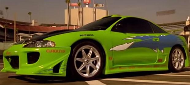 Mitsubishi Eclipse é o primeiro carro do personagem de Paul Walker (Foto: Reprodução/YouTube)