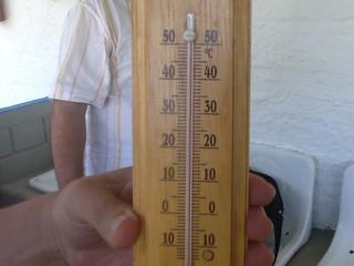 termômetro passo dareia grêmio são josé gauchão (Foto: Julio Cesar Santos/RBS TV)