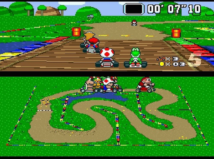 Super Mario Kart (Foto: Reprodução)