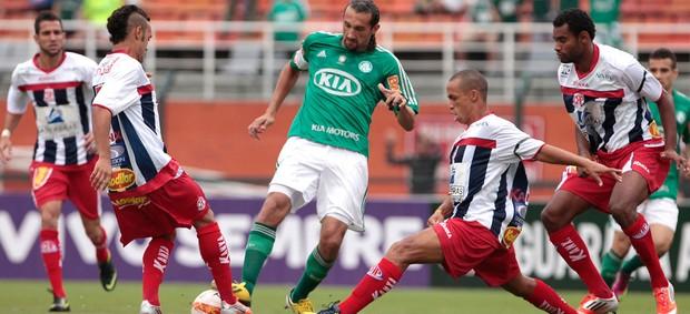 Barcos Palmeiras x Penapolense (Foto: Miguel Schincariol / Ag. Estado)