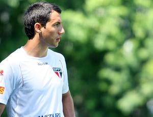 Piris treino São Paulo (Foto: Anderson Rodrigues / Globoesporte.com)