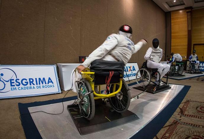esgrima paralímpica Jovena Guissone (Foto: Divulgação / CPB)