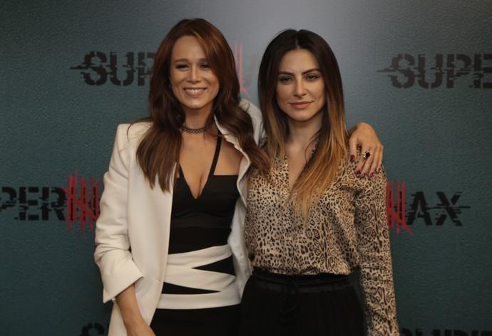 Mariana Ximenes e Cleo Pires estrelam Supermax, a nova série da Globo (Foto: Artur Meninea / Gshow)