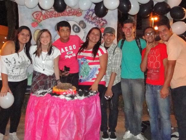 Com apenas 17 anos, a atriz já mobiliza uma grande quantidade de fãs (Foto: Malhação / TV Globo)