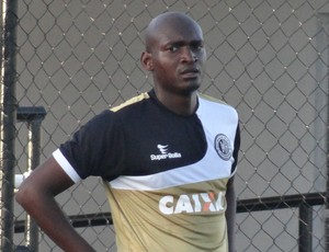 Leandro Souza, zagueiro do ASA (Foto: Leonardo Freire/GloboEsporte.com)