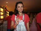 Monica Iozzi relembra beijo em Klebber Toledo: 'Tem que viver'