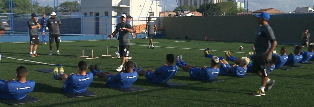 Marcelinho Paraíba é atração em treino do Treze