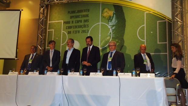 reunião planejamento operacional Copa das Confederações (Foto: Fabrício Marques)