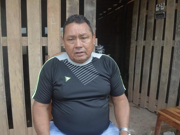 Raimundo Milson Balieiro Assunção, de 57 anos, lamenta o tempo que ficou preso (Foto: Dyepeson Martins/G1)