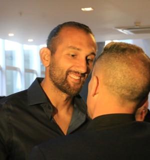 Barcos D'Alessandro entrevista Lance de Craque (Foto: Eduardo Deconto/GloboEsporte.com)