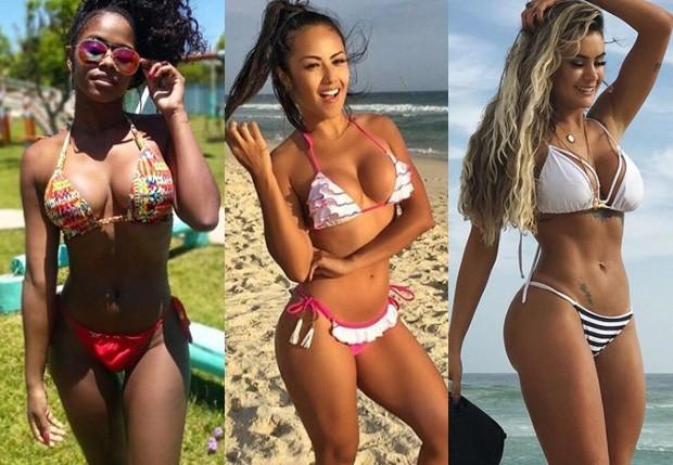 Brenda Martins, Suellem Morimoto e Natacha Horana (Foto: Reprodução/Instagram)
