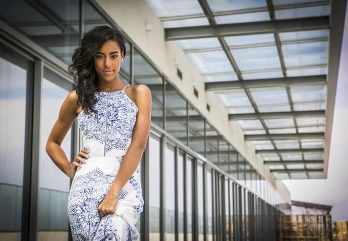 Aos 19 anos, Yara Charry diz que está solteira (Foto: Inácio Moraes/ Gshow)