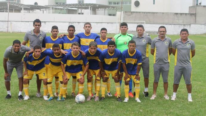 Thomas Rodrigues, goleiro gordinho no RN - Escolinha de futebol Manoel Tatu (Foto: Arquivo Pessoal)