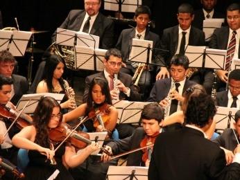 Orquestra Jovem do Estado (Foto: Divulgação)