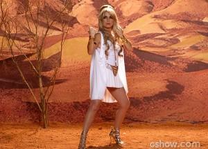A princesa Shelda é uma guerreira intergalática poderosa (Foto: Geração Brasil / TV Globo)