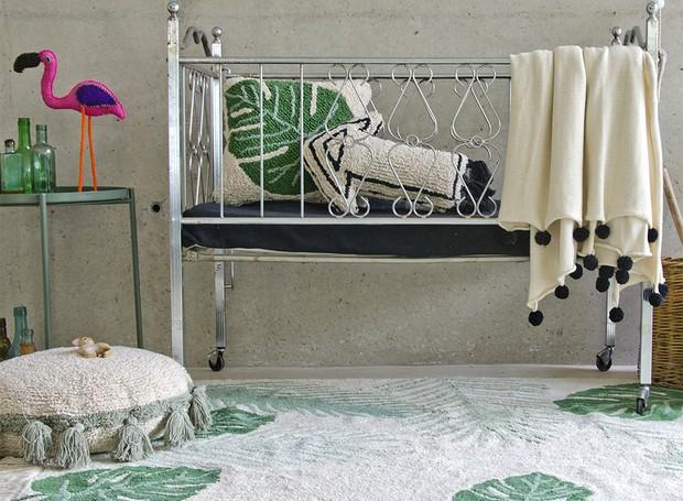 A linha Botanic é uma das novidades da Lorena Canals, que pode ser usada no quarto das crianças (Foto: Divulgação)