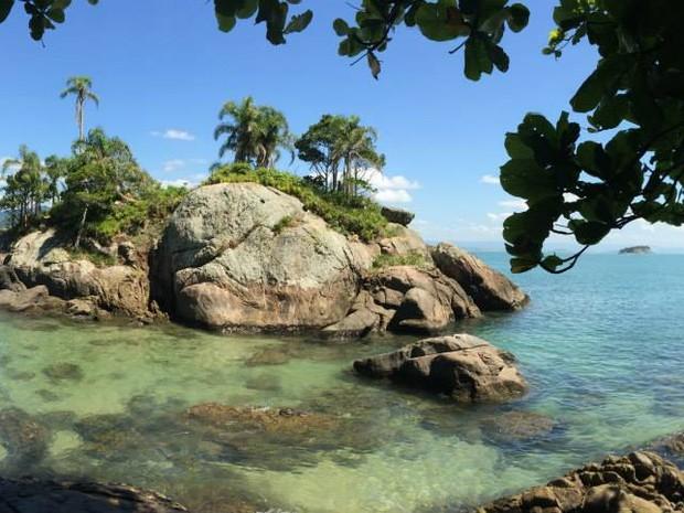 7dc2bb003b114 G1 - Guaraú é um paraíso que une mar, rio, cachoeiras e montanhas no ...