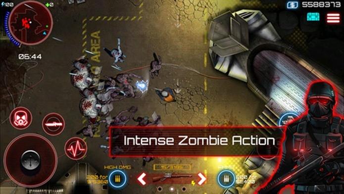Zombie Assault 4 parece um jogo simples, mas na realidade é um game com um grande cenário (Foto: Divulgação)