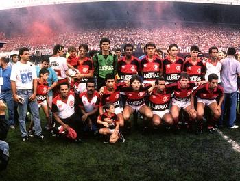 time Flamengo campeão brasileiro 1987 (Foto: Sebastião Marinho / Ag. O Globo)
