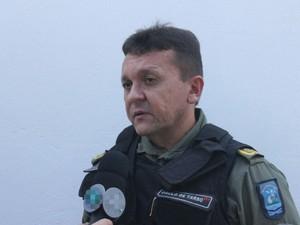 Coronel Paulo de Tarso (Foto: Catarina Costa/G1)