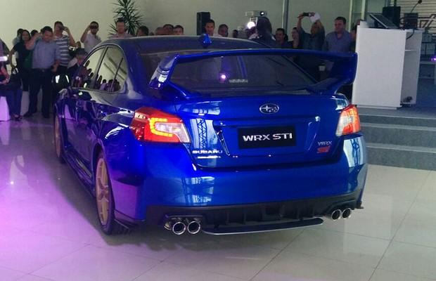 Subaru WRX STI (Foto: Alexandre Izo / Autoesporte)