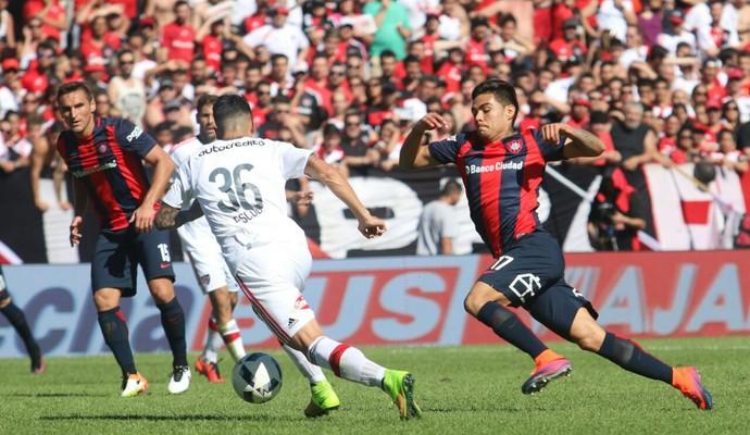 San Lorenzo x Newell's Old Boys Campeonato Argentino (Foto: Divulgação/San Lorenzo)