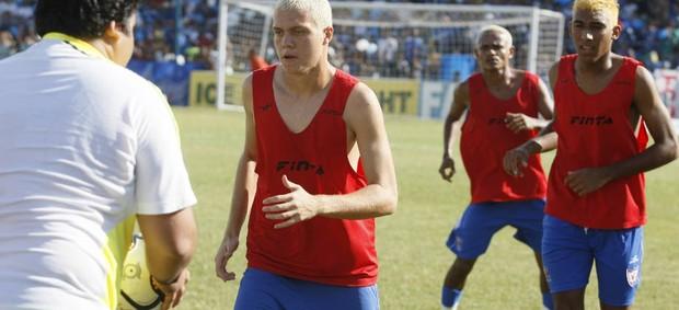 Bernardo será titular no amistoso do Águia contra o Araguaína (TO) (Foto: Marcelo Seabra/O Liberal)