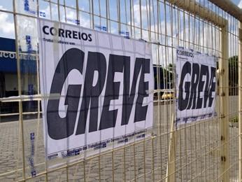 Sindicato afirmou que greve só acabará quando empresa garantir que atual plano de saúde continuará (Foto: Kety Marinho/TV Globo)