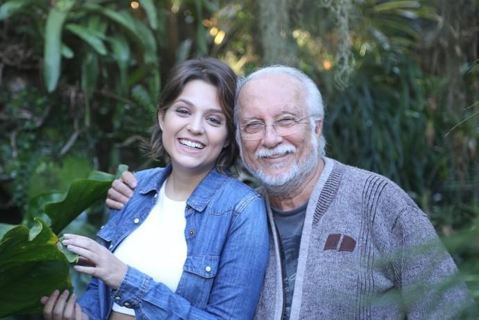 Maria Luiza e Roberto Menescal: encontro de gerações em 'Jazz in Bossa, Bossa in Jazz' (Foto: Divulgação)