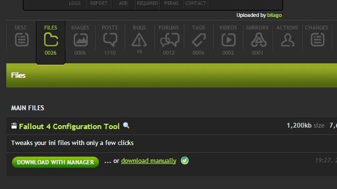 Clique em Download Manually para baixar os arquivos e fazer a instalação manual (Foto: Reprodução/Tais Carvalho)