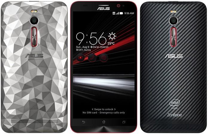 Zenfone Deluxe Special Edition tem duas capinhas para parte traseira (Foto: Divulgação/Asus)