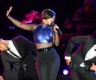 Alicia Keys faz show suave no palco principal (Flavio Moraes/G1)