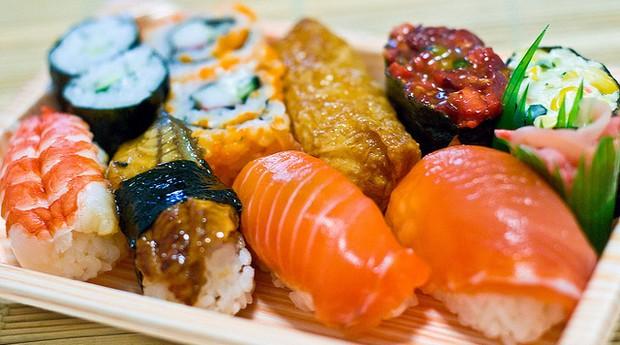sushi; comida japonesa; restaurante; alimentação (Foto: Evander Li / Flickr)