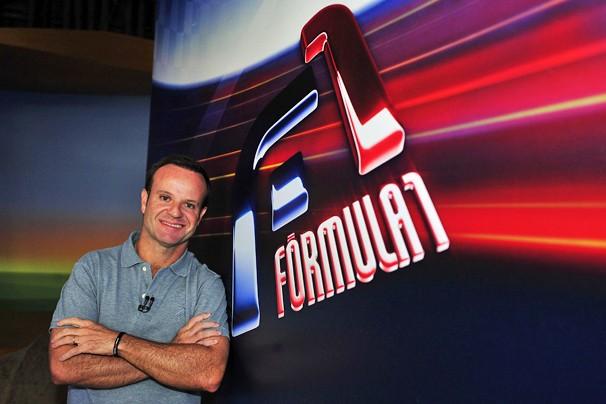 Rubens Barrichello estreia no time de comentaristas das corridas de Fórmula 1 da Globo (Foto: Reinaldo Marques/Globo)