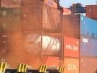 Porto de Santos faz o maior simulado de combate a incêndio da história