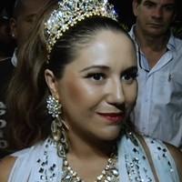 'Movida a desafios', diz Maria Rita sobre desfile (Reprodução/G1)
