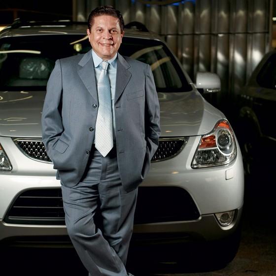 Carlos Alberto de Oliveira Andrade, importador responsável pela marca Hyundai no país. (Foto: Daniela Toviansky/ Editora Globo)