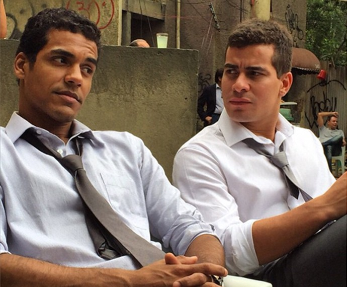 Em Babilônia, Marcello e Thiago interpretam melhores amigos (Foto: Arquivo Pessoal)