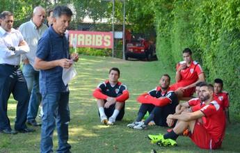 Osorio vai visitar jogadores do São Paulo antes de duelo com o Toluca