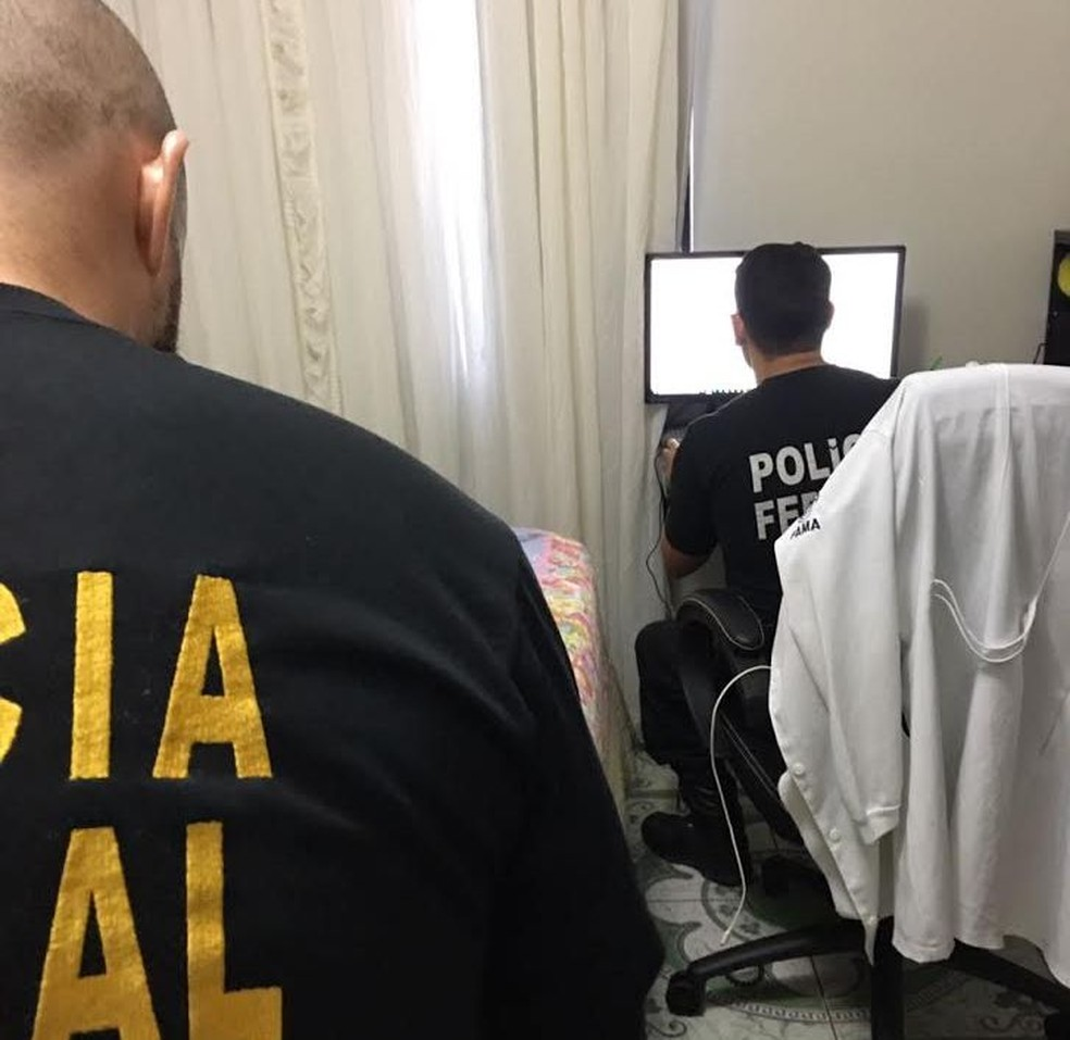 Polícia Federal em operação no Amapá (Foto: Divulgação/Polícia Federal)