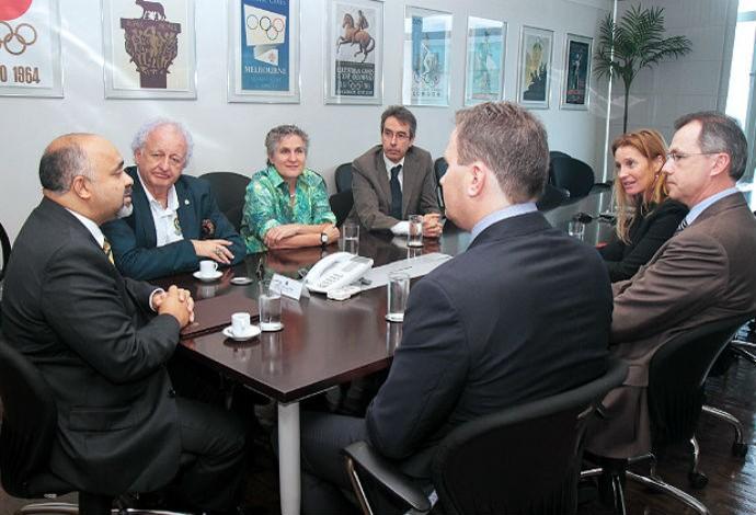 George Hilton reunião Wada (Foto: Francisco Medeiros/ME)