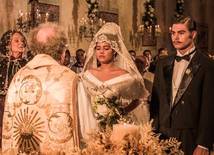 Tereza e Carlos Eduardo se casam