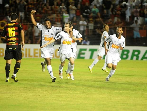 sport x atlético-mg (Foto: Aldo Carneiro / Pernambuco Press)