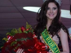 Bianca Matte é a representante de Roraima no Miss Brasil 2013 (Foto: Neidiana Oliveira/G1)