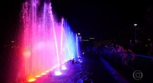 Festival de luzes em Jerusalém (TV Globo)